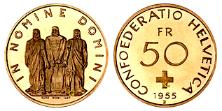 gouden-50-francs-zwitserland-1955-1959