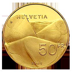 gouden-50-francs-zwitserland-keerzijde