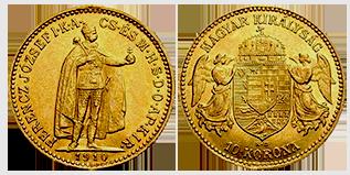10-korona-hongarije