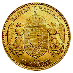 gouden-10-korona-hongarije