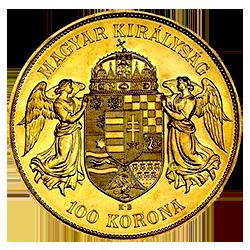 gouden-100-korona-hongarije