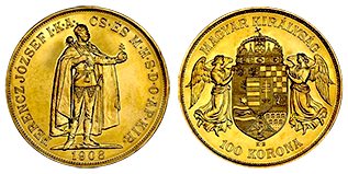 gouden-100-korona