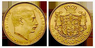 gouden-20-kronen-christian-X-denemarken
