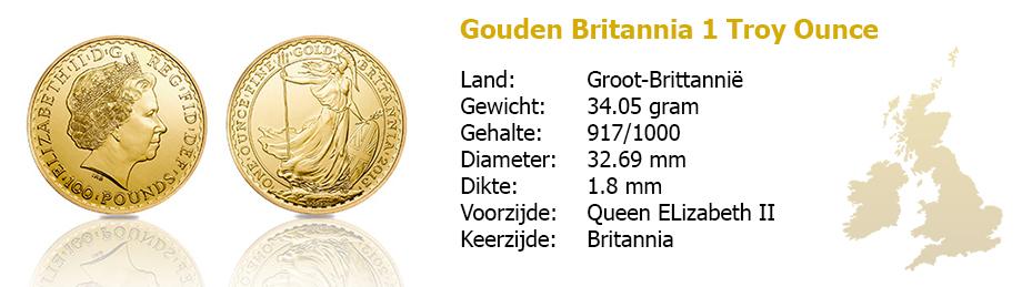 Golden Britannia 1 OZ