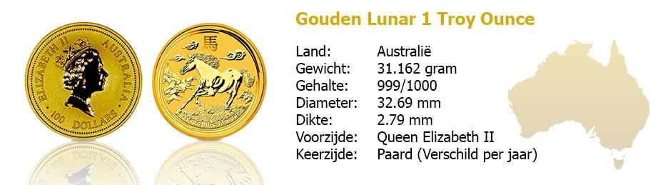 Golden Lunar 1 OZ