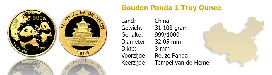 Golden Panda 1 OZ