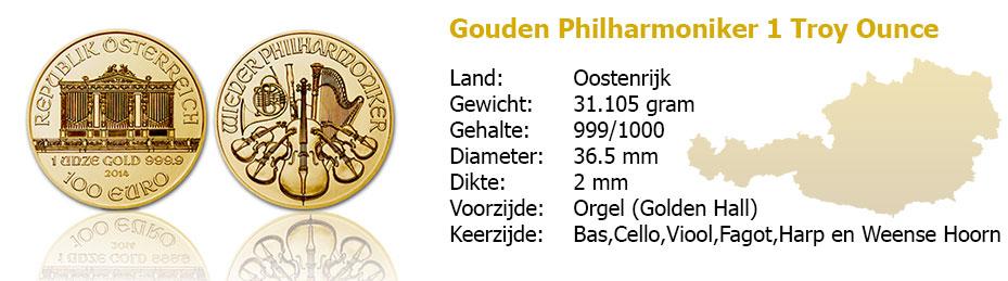 Golden Philharmoniker 1 OZ