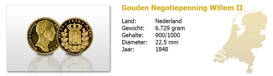 Gouden-Negotiepenning-Willem-II-1848