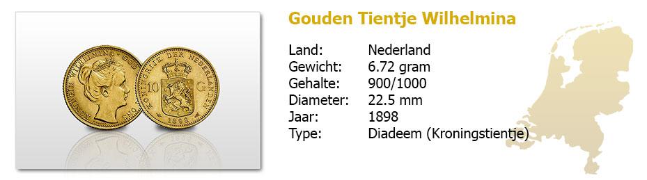 Gouden-Tientje-Wilhelmina-diadeem-1898