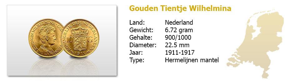 Gouden-Tientje-Wilhelmina-hermelijnen-mantel-1911-1917