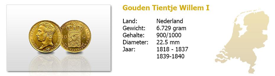 Gouden-Tientje-Willem-I-1818-1840