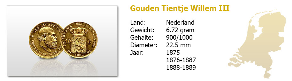 Gouden-Tientje-Willem-III-1875-1889