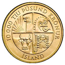 10000 Tiu Pusund Kronur Island