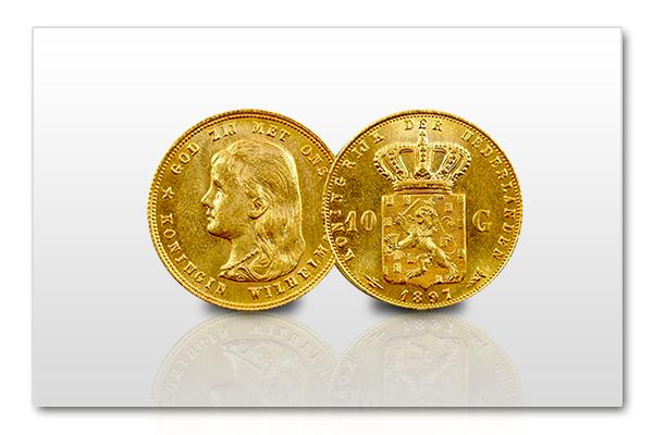 Gouden-Tientje-Wilhelmina-lang-haar-1892-1897