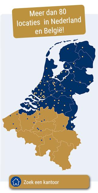 Kantoren in Nederland & België